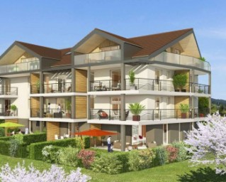 Programme immobilier neuf Groisy - Vues d'Ici - Residence Principale